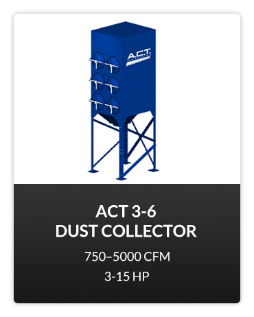 ACT 3-6 Dust Collector