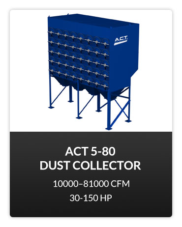 ACT 5-80 Dust Collector