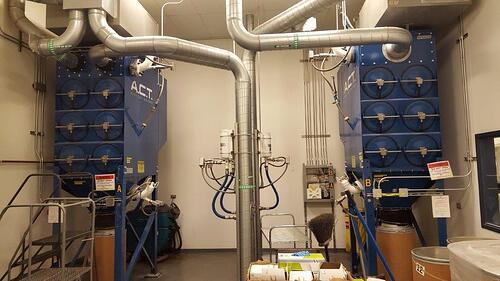 Indoor Dust Collector System