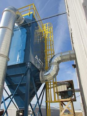 Dust collector for woodworking applications from A.C.T. Dust Collectors