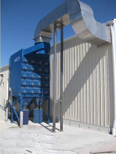 Industrial Dust Collection Systems for Your Recycling & Scrap Applications