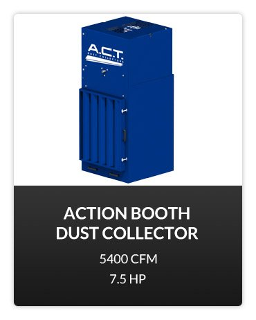 ACTion Booth Dust Collector