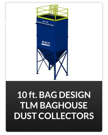 10 ft Bag Design TLM Baghouse Dust Collector