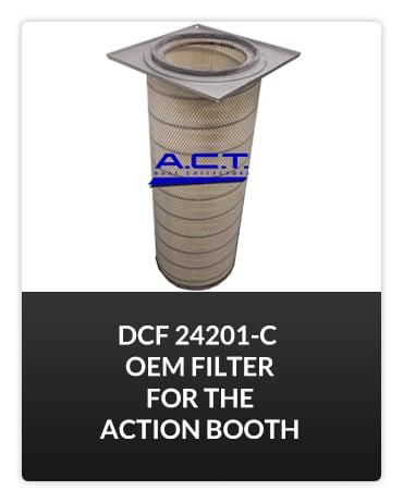 DCF 24201-C OEM Filter Button