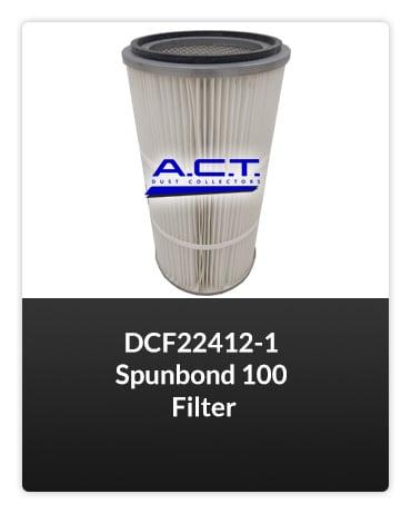 DCF22412-1 Spunbond 100 Filter FILTER Button