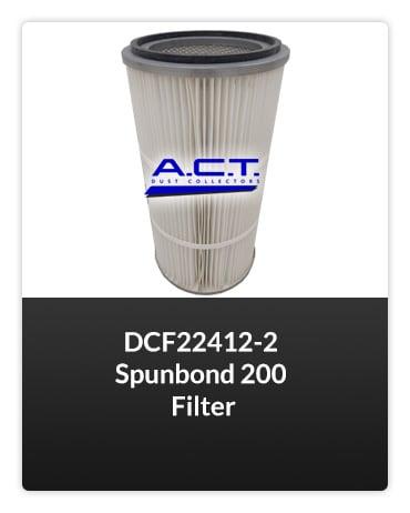 DCF22412-2 Spunbond 200 Filter FILTER Button