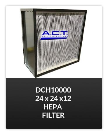DCH10000 HEPA FILTER Button