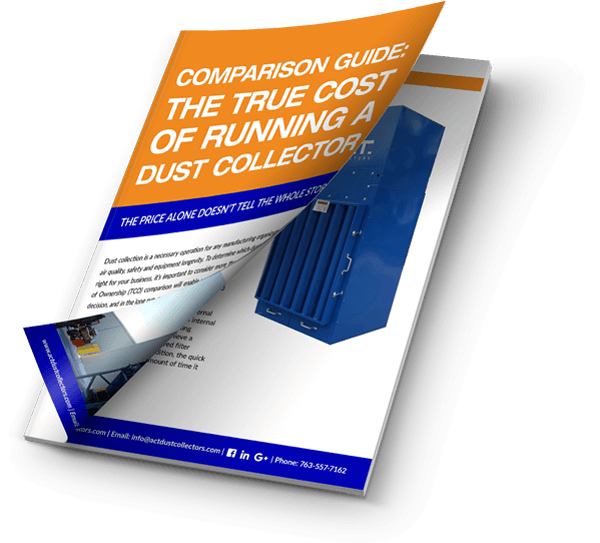 True Cost of Running a Dust Collector ebook