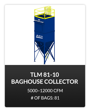 TLM 81-10 Baghouse Dust Collector
