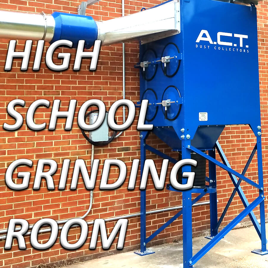 Metalworking Dust Collector Clears the Air at Virginia High School