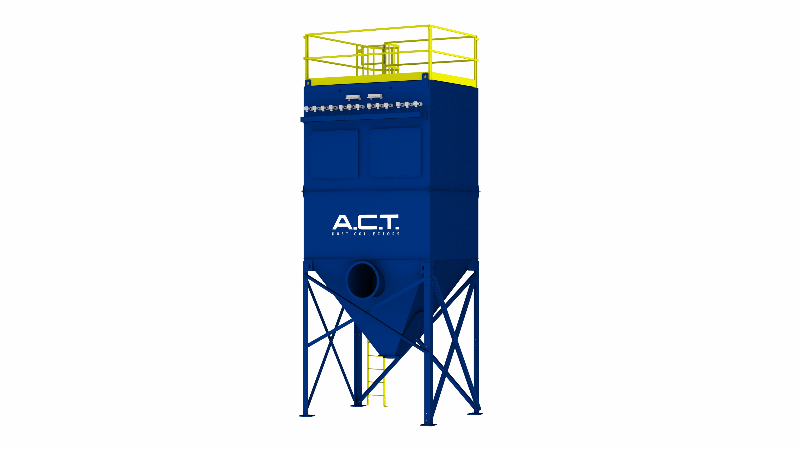 ACT TLM117-10 Baghouse Dust Collector - Thumbnail