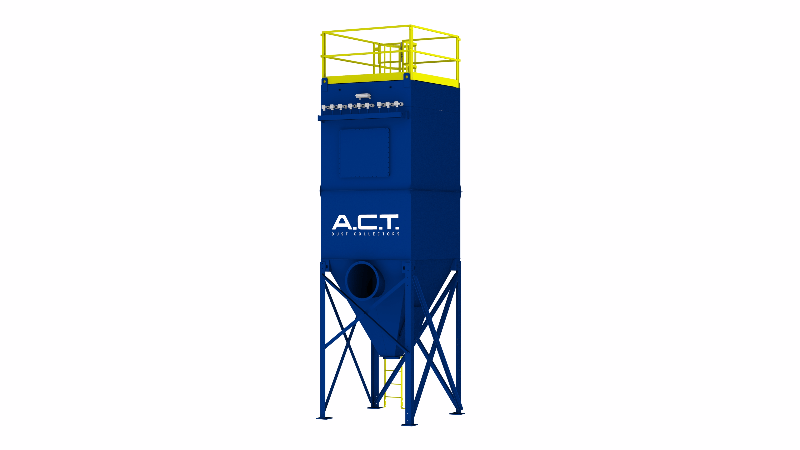ACT TLM81-10 Baghouse Dust Collector - Thumbnail