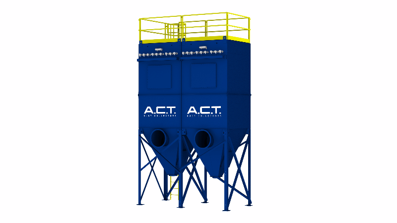 ACT TLM162-10 Baghouse Dust Collector - Thumbnail
