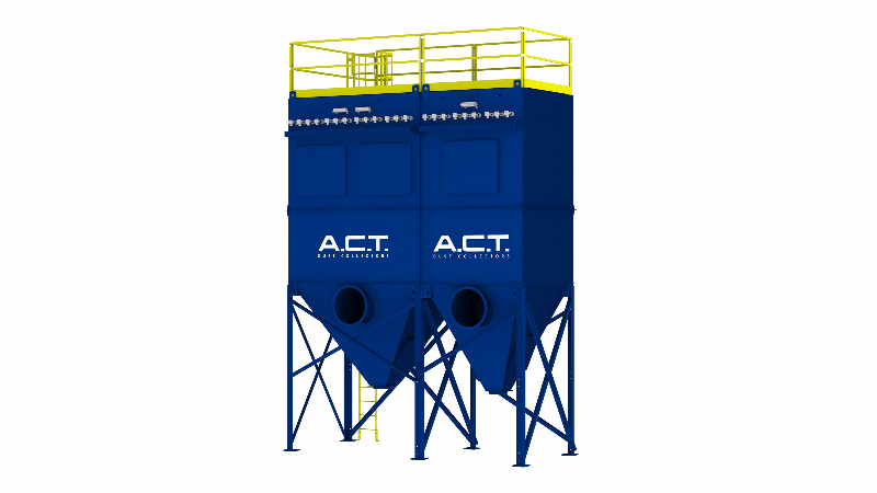 ACT TLM198-10 Baghouse Dust Collector - Thumbnail