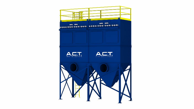 ACT TLM234-10 Baghouse Dust Collector - Thumbnail