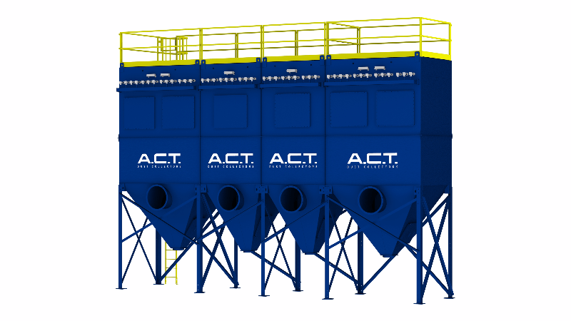 ACT TLM396-10 Baghouse Dust Collector - Thumbnail