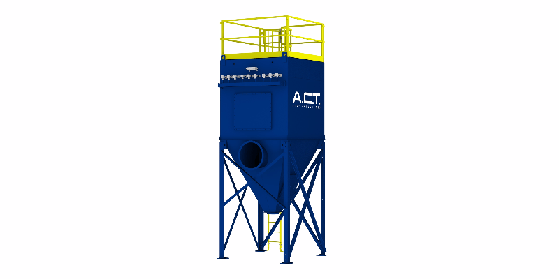 ACT TLM81-5 Baghouse Dust Collector - Thumbnail