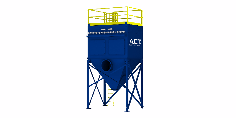 ACT TLM117-5 Baghouse Dust Collector - Thumbnail