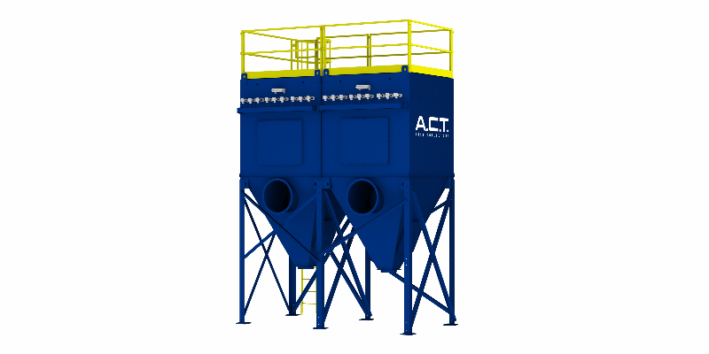 ACT TLM162-5 Baghouse Dust Collector - Thumbnail