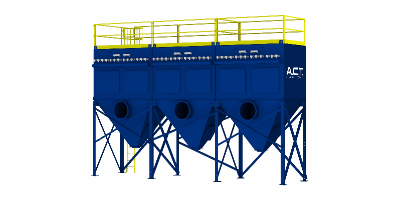 ACT TLM351-5 Baghouse Dust Collector - Thumbnail